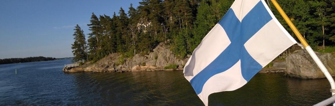 Great summer greetings from midnight summer Finland!