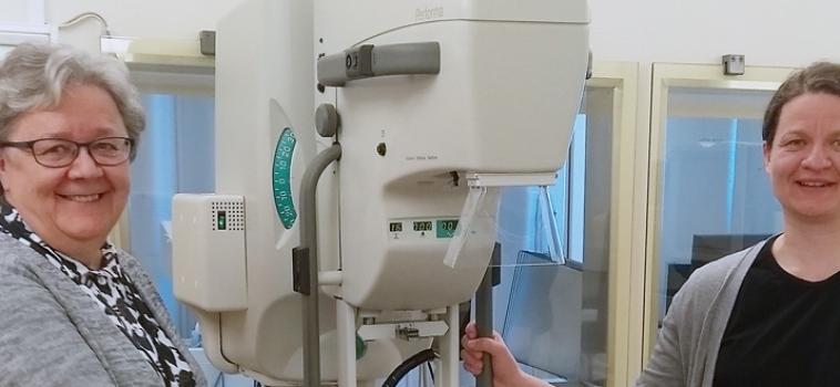 TAMK:n mammografiakoulutus siirtyi digiaikaan – Innomentariumin FeniX on laskeutunut nyt myös Tampereelle